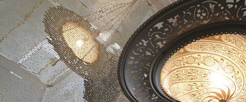 House of Rock en Los Angeles con lámparas Fortuny