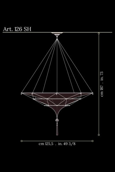 Scheherazade Fortuny 3 niveles, dimensiones