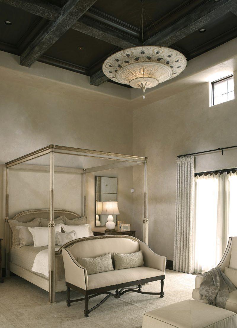 Scheherazade Fortuny 3 niveles Lámpara de seda con diseño Geométrico - proyecto 2