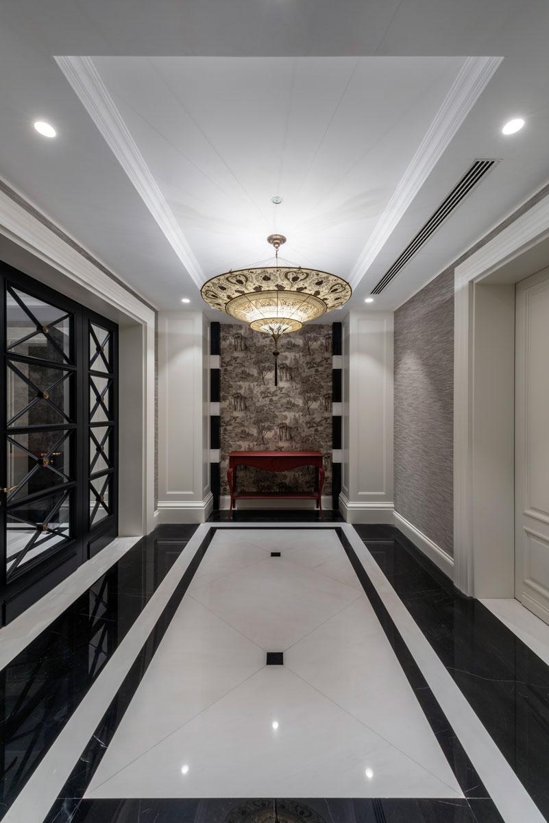 Scheherazade Fortuny 3 niveles Lámpara de seda con diseño Geométrico - Hotel