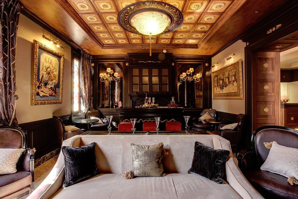 Hotel Moresco en Venecia con lámparas de cristal Fortuny