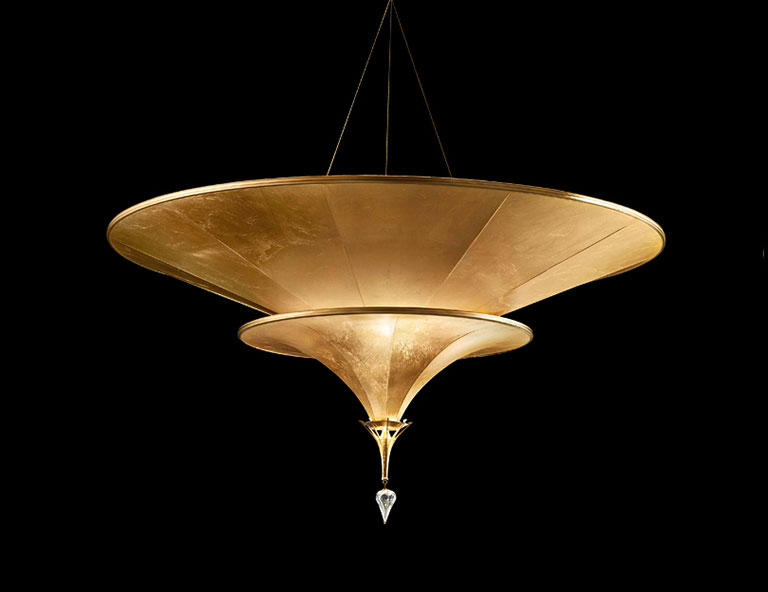 Fortuny Icaro 2 tiers suspended lamp category