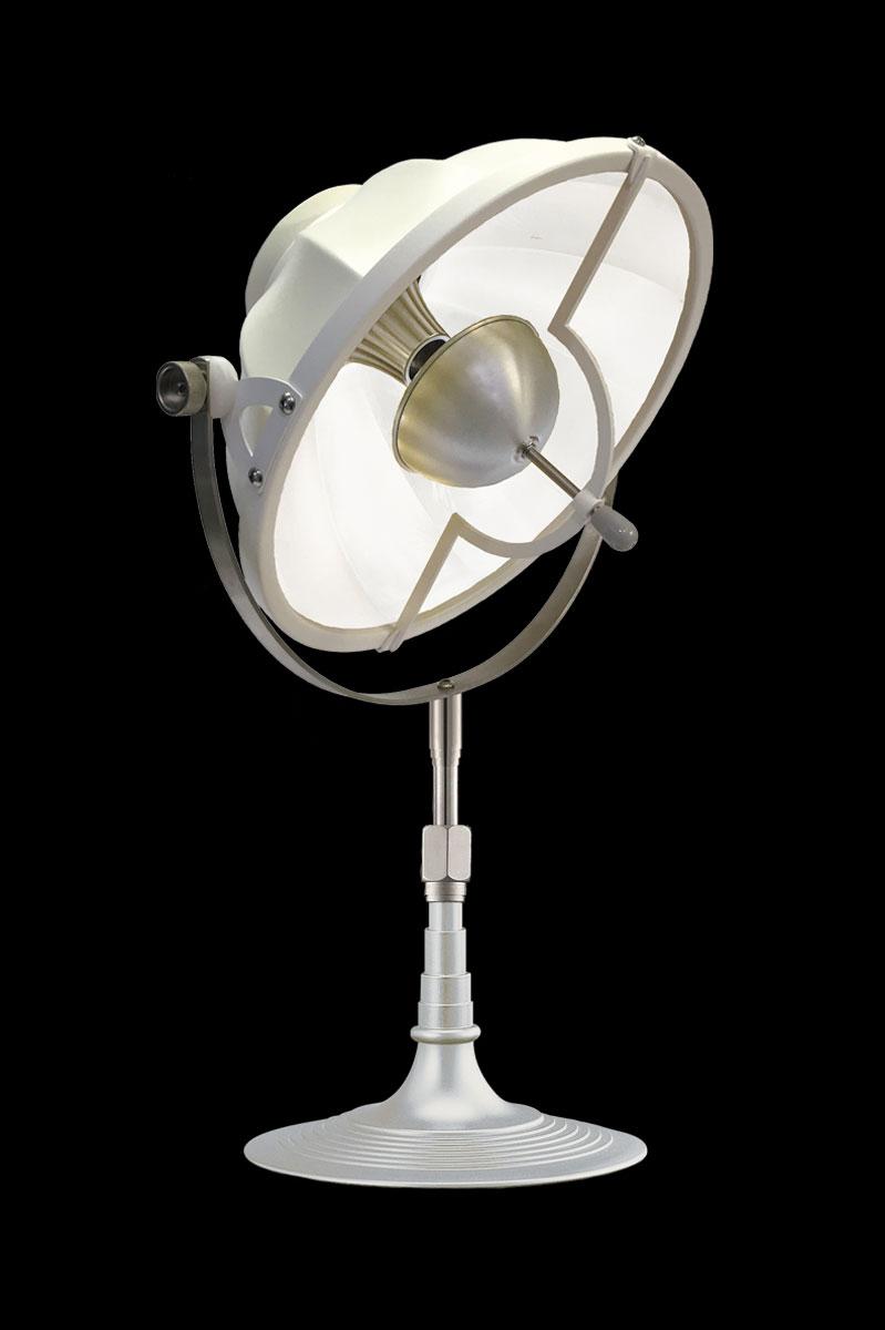 Lámpara de mesa Fortuny Armilla 32 blanca