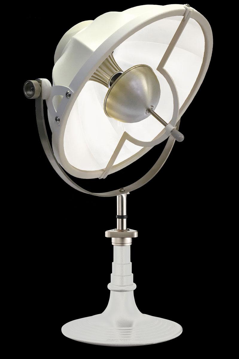 Lámpara de mesa Fortuny Armilla 41 blanca
