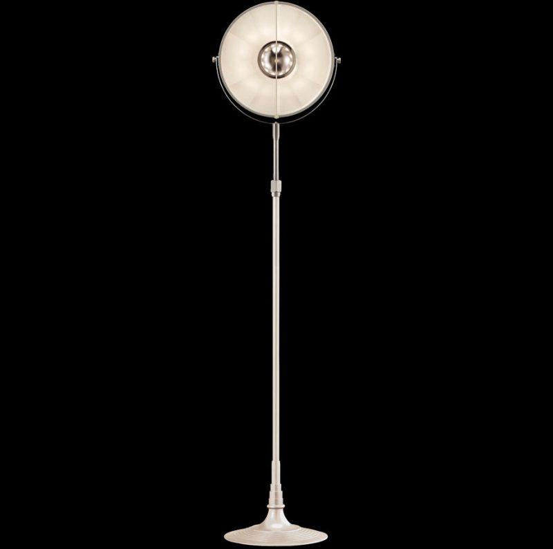 Lámpara de pie Fortuny Atelier 32 blanca