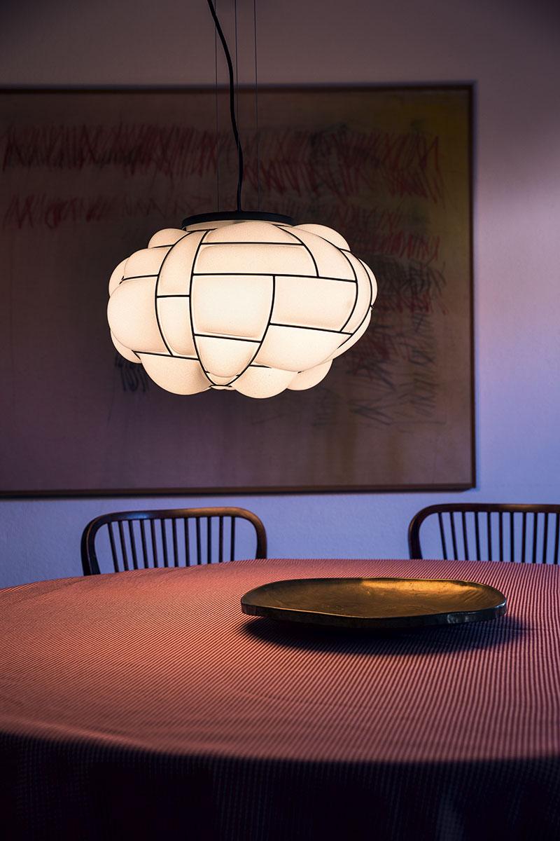 Lámpara de techo Pallucco Egg blanca
