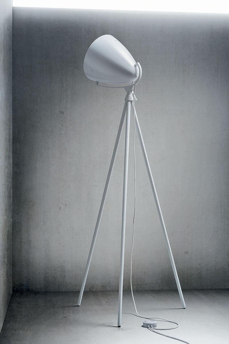 Lámpara de pie Pallucco Faro Next blanca 2