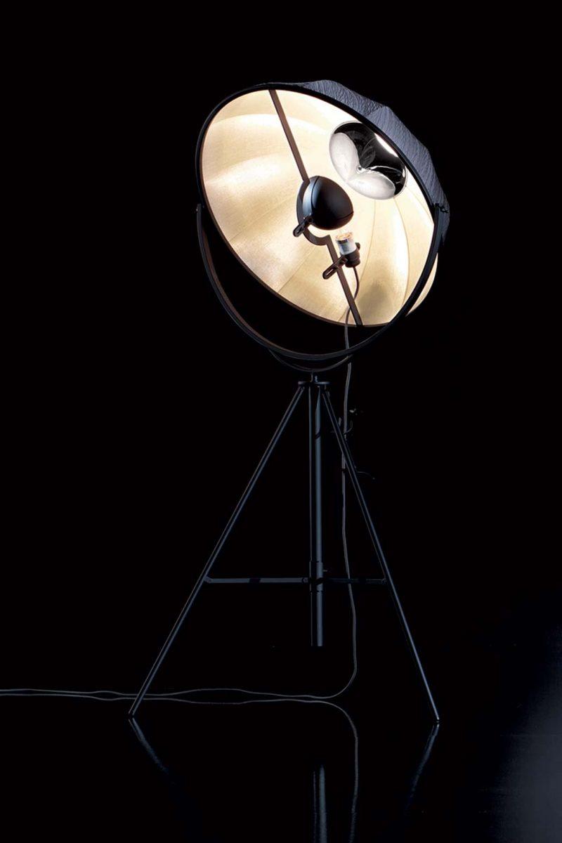 Lámpara de pie Pallucco Fortuny Kieffer Rubelli vista frontal