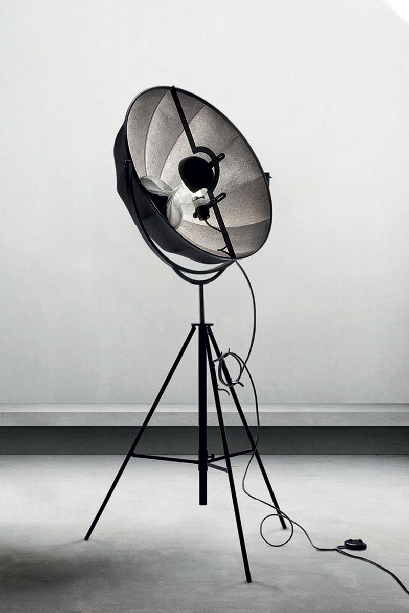 Lámpara de pie Pallucco Fortuny Silver Rubelli