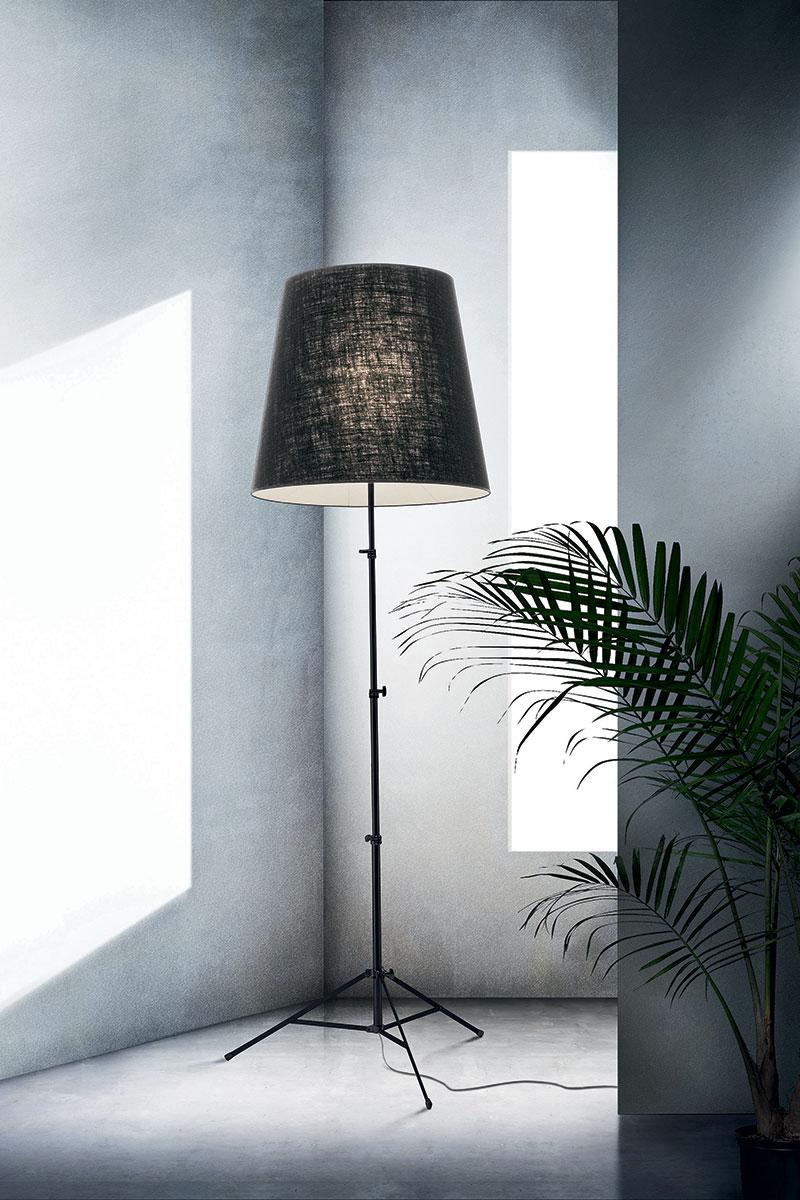 Lámpara Pallucco Gilda pergamino negro