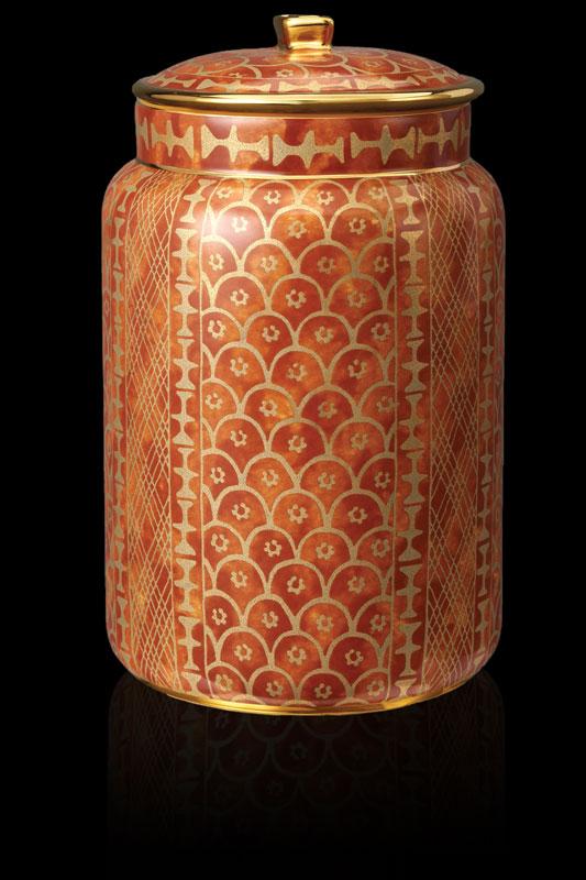 Tarro Fortuny Ashanti grande naranja