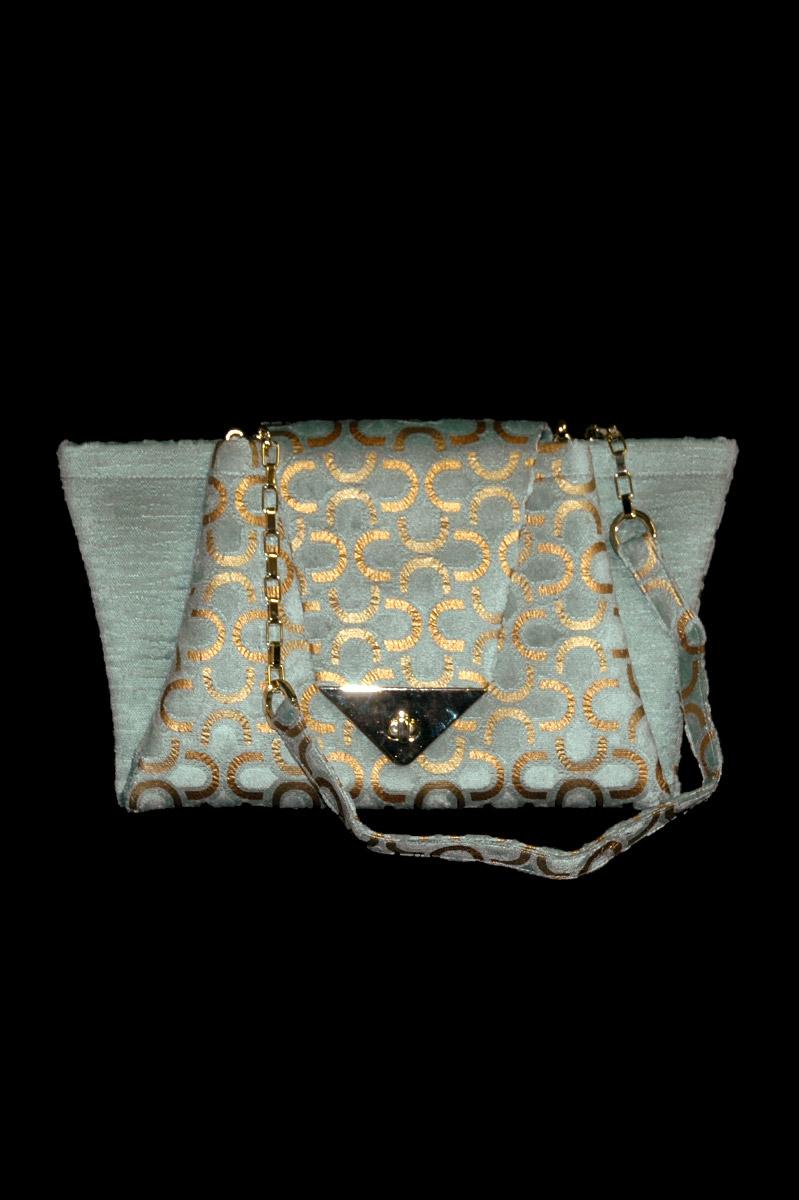 Fortuny Alexandra velvet bag