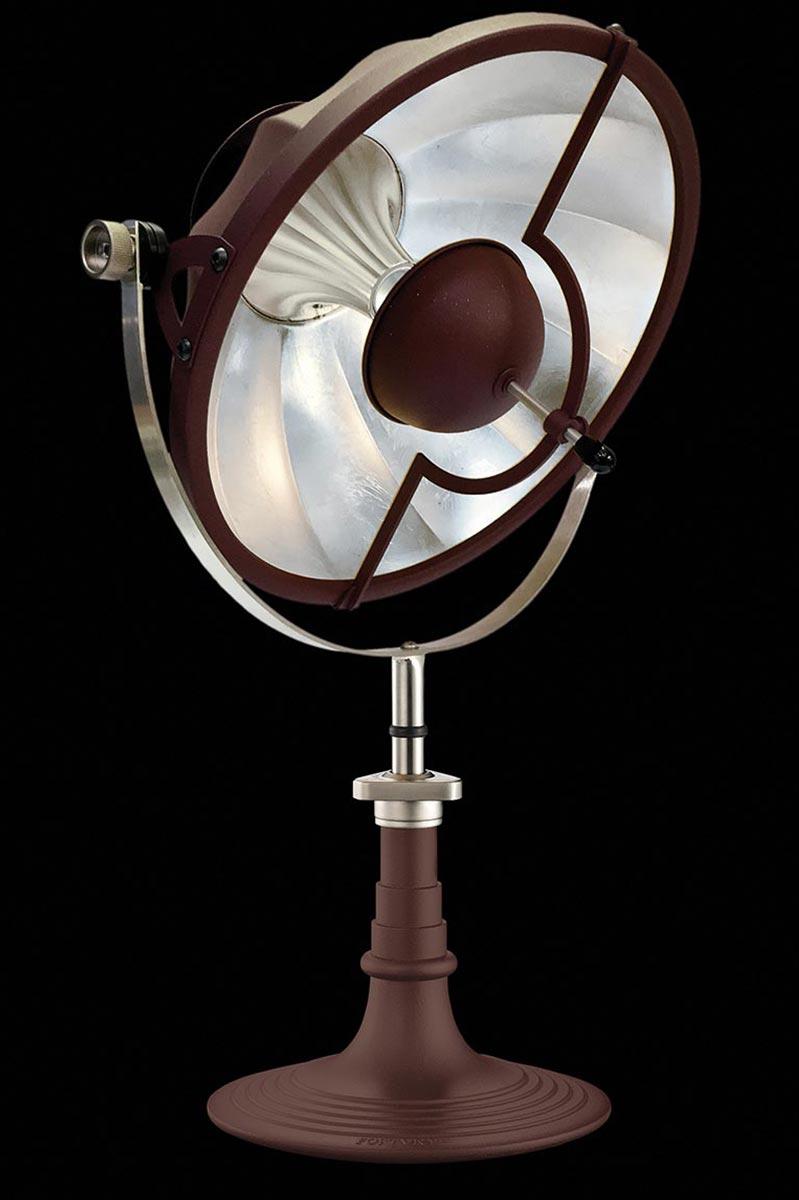 Lámpara de mesa Armilla roja y pan de plata